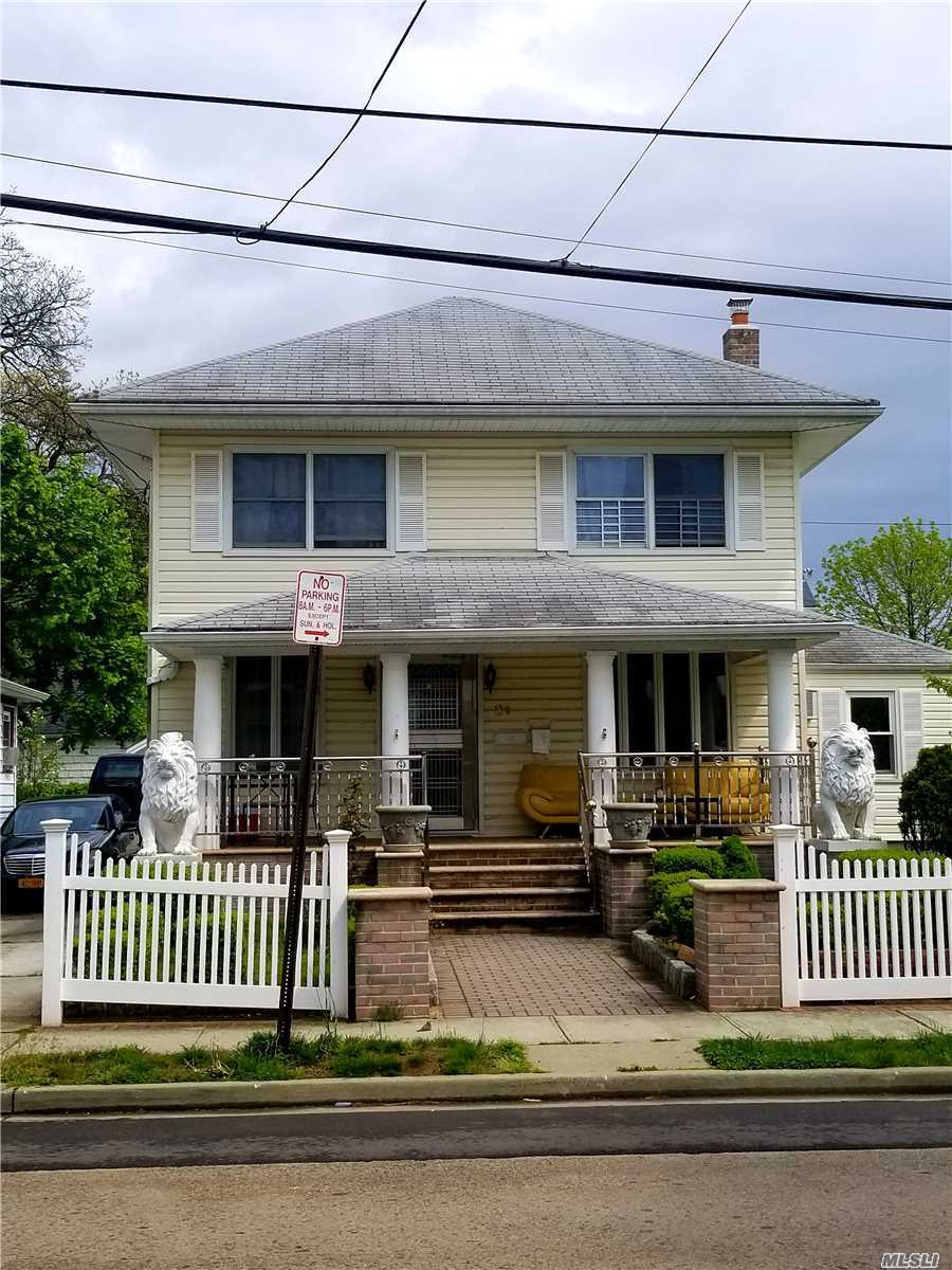 This is a Beautiful Colonial house rental/No Basement.Very special with nice size Kit, D/R and L/R on 1st floor and 3 Bedrooms with Big F/Bathroom on the 2nd floor. NO Pets, No Smoking.No wash/dryer.3 car parking car spots in the private driveway.Tenant pay electric, 1/2 for gas(stove and heat)and ground care on the front house and driveway. Owner will pay water and 1/2 gas. Near Train, Buses, Shopping, Park for kids.Don't wait!Call Now!LA attending all appointments, 24 Hr Notice.