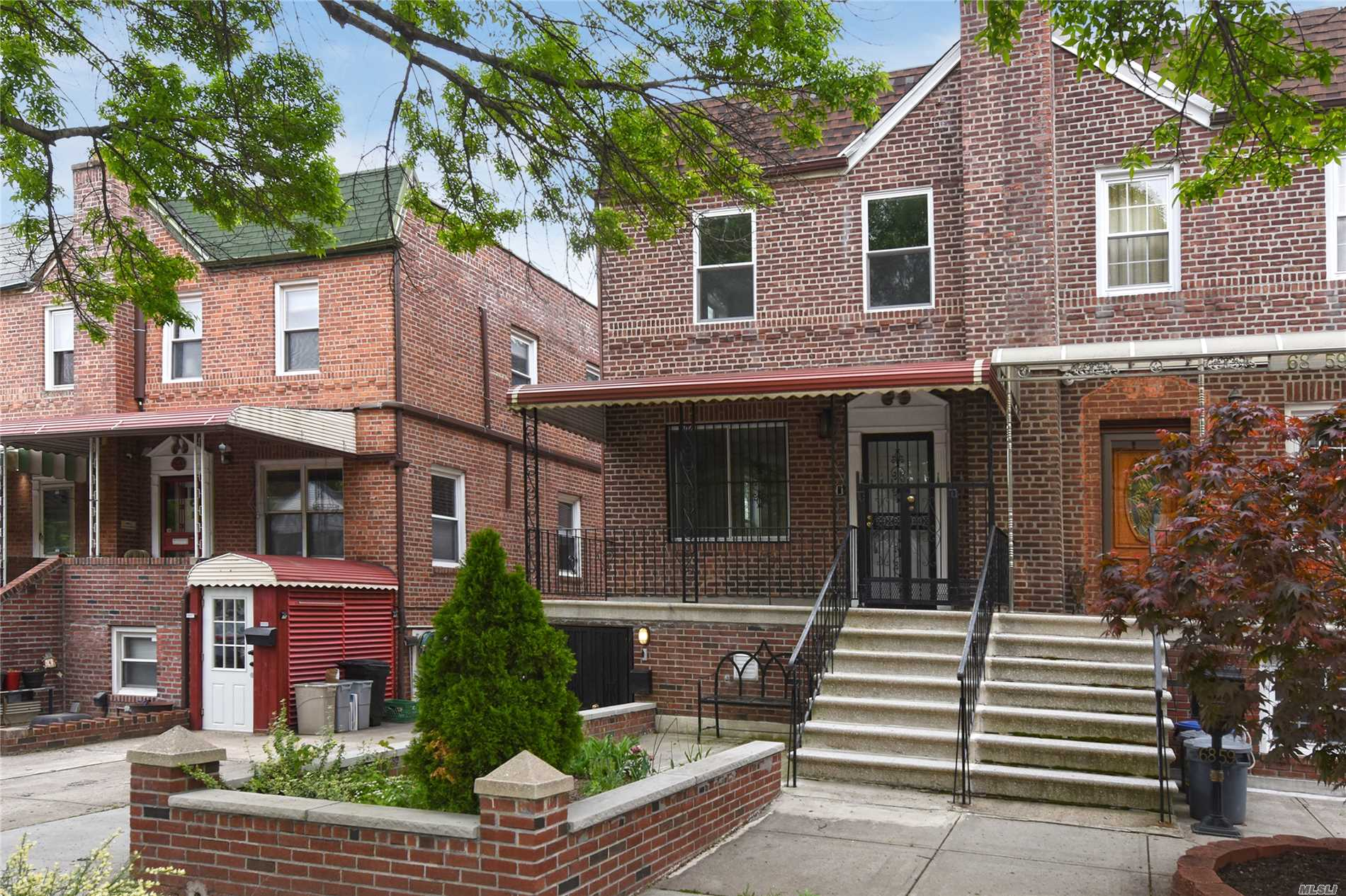 This two family house is beautifully renovated with granite counters and stainless steel appliances. Near Metropolitan Ave and Trader Joe's.