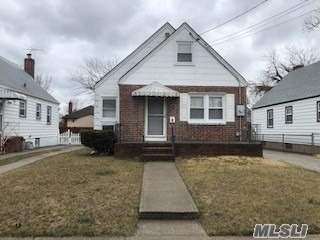 Detached Single Family Cape With Private Driveway, Attic, And Full/Unfinished Basement Located In The Valley Stream Section of Long Island. Property Features A Living Room/Dining Room Combo. Kitchen, Three Bedrooms, And One Full Bathroom.