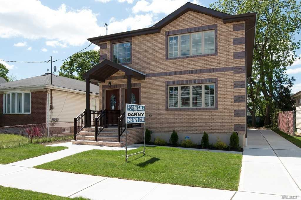 Very Large 2 Family; Renovated from top to bottom; Everything is brand new! A Must See! For the fussiest buyer.