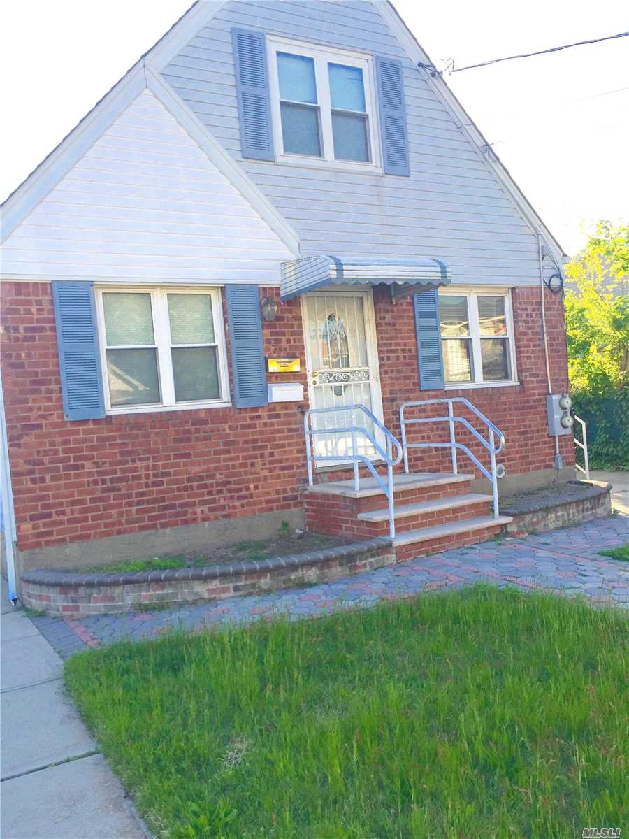 Opportunity Is Knocking!!! Saint Albans: This 2 Family Detached, Cape Features A Full Unfinished Basement, Living/Dining Room Combos, Eat-In-Kitchens, 3 Bedrooms, 2 Full Baths And A Private Driveway. Conveniently Located Near All Amenities. Don't Miss This One!