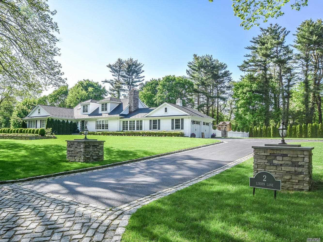 Character and Charm are evident in this Beautifully Renovated Farm Ranch. Open Floor Plan for Comfortable Living and Entertaining. Sun Drenched Rooms. Radiant Floors. 2 Fireplaces. Fire Pit. Built in BBQ. Patio. Generator. 2 Acres. This spectacular Home has it all.
