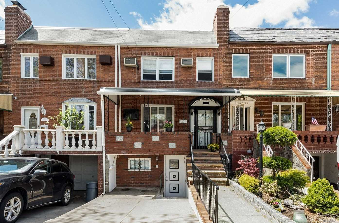 Lovely 1 family brick home located next to Juniper Park & nr. PS 49 school. This inviting home features a large livingroom, formal diningroom, great kitchen and private yard. Never search for parking again with a private driveway in front....
