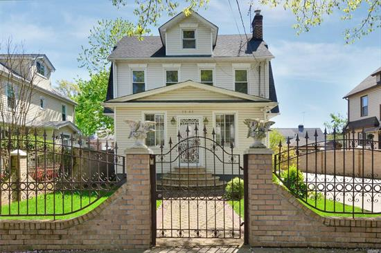 Spacious 5 Bedroom, 2 Full Bath Detached Colonial located on Quiet Treelined Street in the Heart of Prime North Flushing. Superb Condition. All Shopping and buslines Q12, Q13 along Northern Blvd. to Main St. School dst. 25. PS32, IS25, Francis Lewis HS. Conveniently location to Beautiful Bowne Park. Easy Access to all Major Hwys. All House of Worship close by. Lots & Lots of Details.