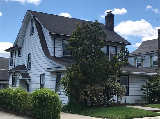 Most desirable block on one of most desirable streets of Cord Meyer Forest Hills, 50'x100' lot, Colonial 4 Bedroom, 2.5 Baths, Family Room, Florida Room, finished basement, attic (with a room that could be additional bedroom), garage, secluded backyard, close to shopping, E, F express trains and LIRR, PS #196