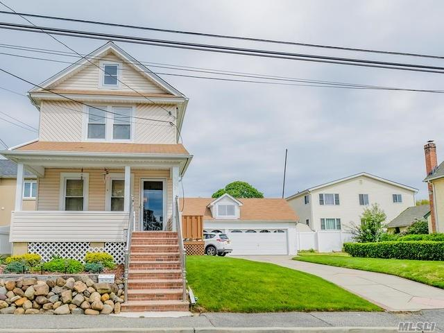 Welcome to this beautiful colonial in south floral park! 3 bedroom, 1 bath, spacious living room, eat in kitchen, den. Beautiful hardwood floors throughout. Detached 3.5 car garage! Beautiful front porch, Private yard, close to all! Don't miss out on this fantastic home!!