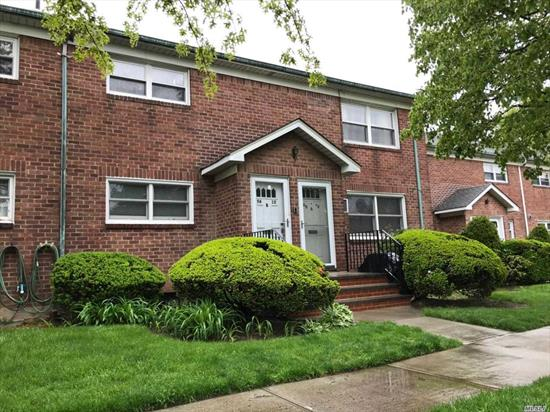 This Unit Includes the Indoor Garage & Low Maintenance Includes Heat....Nice 2 Bed Rms Condo Located in The Heart of Fresh Meadows. Updated Electrical, Bathroom and Kitchen. Hardwood Floors, Granite Kitchen Counter top, Solid Wood Doors, 3 Wall Air Conditioners, Tiles Up to Ceiling in Bathrm With Exhaust Fan...Plenty of Free Parking in The Rear of The Building. Walk to Shopping, Park..Easy Access to Major Highways. Bus Q17/Q30, /Q31/Q88...School Dist. #26, Walk To PS.173/JH.216/Francis Lewis HS.