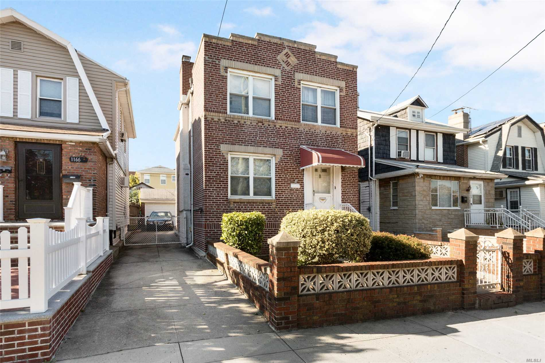 Two family detached brick house on 62nd St in Borough Park, Brooklyn. Certificate of Occupancy indicates two family house. Four rooms over four rooms, two and half baths, full finished basement, gas heat and hot water, two care garage and private driveway. Near public transportation. Delivered vacant. Lot: 28 x 100, Bldg 18 x 28.5, Zoned R3A.