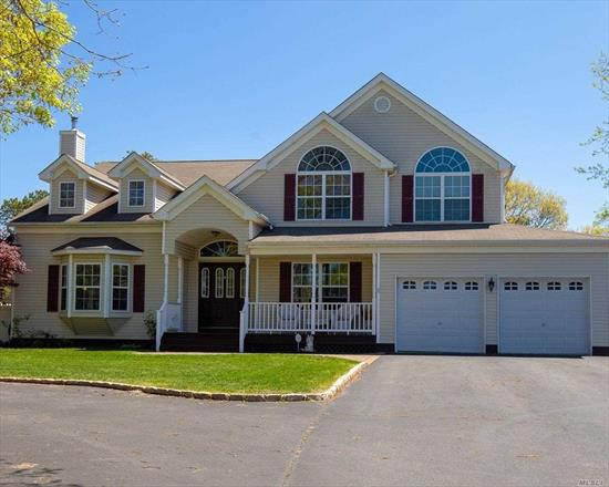 Spectacular 5 Bedroom Colonial Legal M/D and room for Nanny, on over 1 Acre Lot . Features Circular Driveway, Central Air Living Rm, Formal Dining Rm, EIK, Breakfast room, Large Inground pool and Deck. Excludes the Chandeliers,