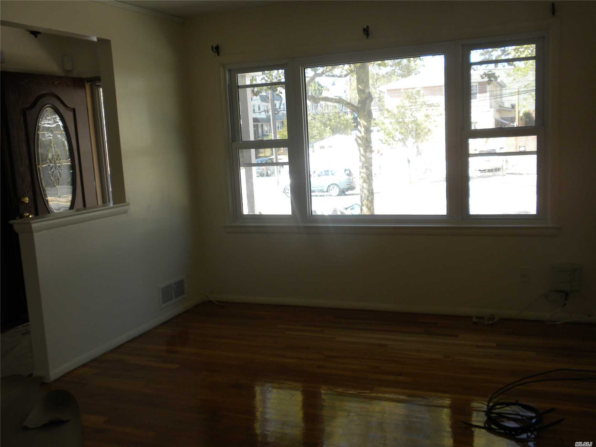 Immaculate DIAMOND Rental in Prestigious Cambria Heights - A Must See!!! Close to everything! All Utilities Included! Highly Polished Wood Flrs throughout. Renovated Kitchen with Stainless Steel appliances & New Cabinets. No pets. Landlord requires Income Verification and Credit Report.