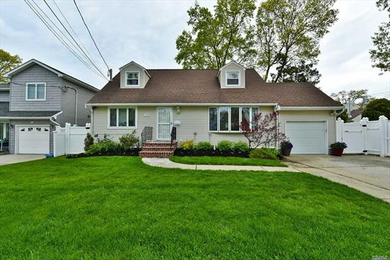 HUGE expanded cape with a colonial feel! Taxes have been grieved as well! Located near by the Massapequa Preserve. Come see this gorgeous property featuring 6 bedrooms and 3 full bathrooms! Potential mother daughter set up if wanted. Plumbing is in the walls already. Must must see!