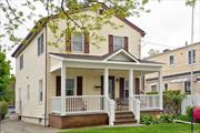 Enjoy Summer Nights Under The Covered Porch Or Relax In The Sunroom Of This Charming Expanded Cape. This Home Has A 5 Year New Kitchen, New Bath, 3 Ductless Mini Split AC Units, Centrally Located Near All Major Highways & Trains. Unpack and Enjoy!!