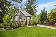 Move right into this beautifully renovated 4 BR 3.5 BTH Tudor, in the heart of the Strathmores. Elegant LR w/ fpl, FDR, and office. Chef's EIK boasts large center island, state-of-the-art appliances, banquet eating area & butler pantry w/adjacent great room. Spectacular master suite w/dressing room & luxury bath, 3 addtl. BRS and 2 full BTHS. LL features, Man Cave, rec room and laundry. Full house generator, Outdoor kit w/ gas bbq. Apprx 3900 sqft includes walk-out lower level.