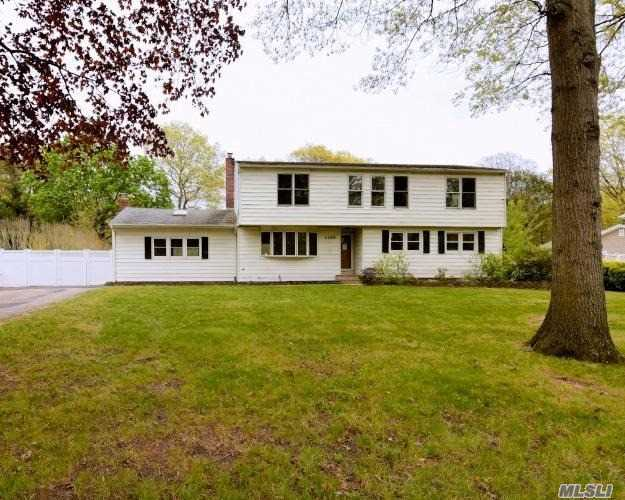 Expanded Ranch Style Home. This Home Features 4 Bedrooms, 3 Full Baths, Dining Room, Den & Eat In Kitchen. Centrally Located To All. Don't Miss This Opportunity!