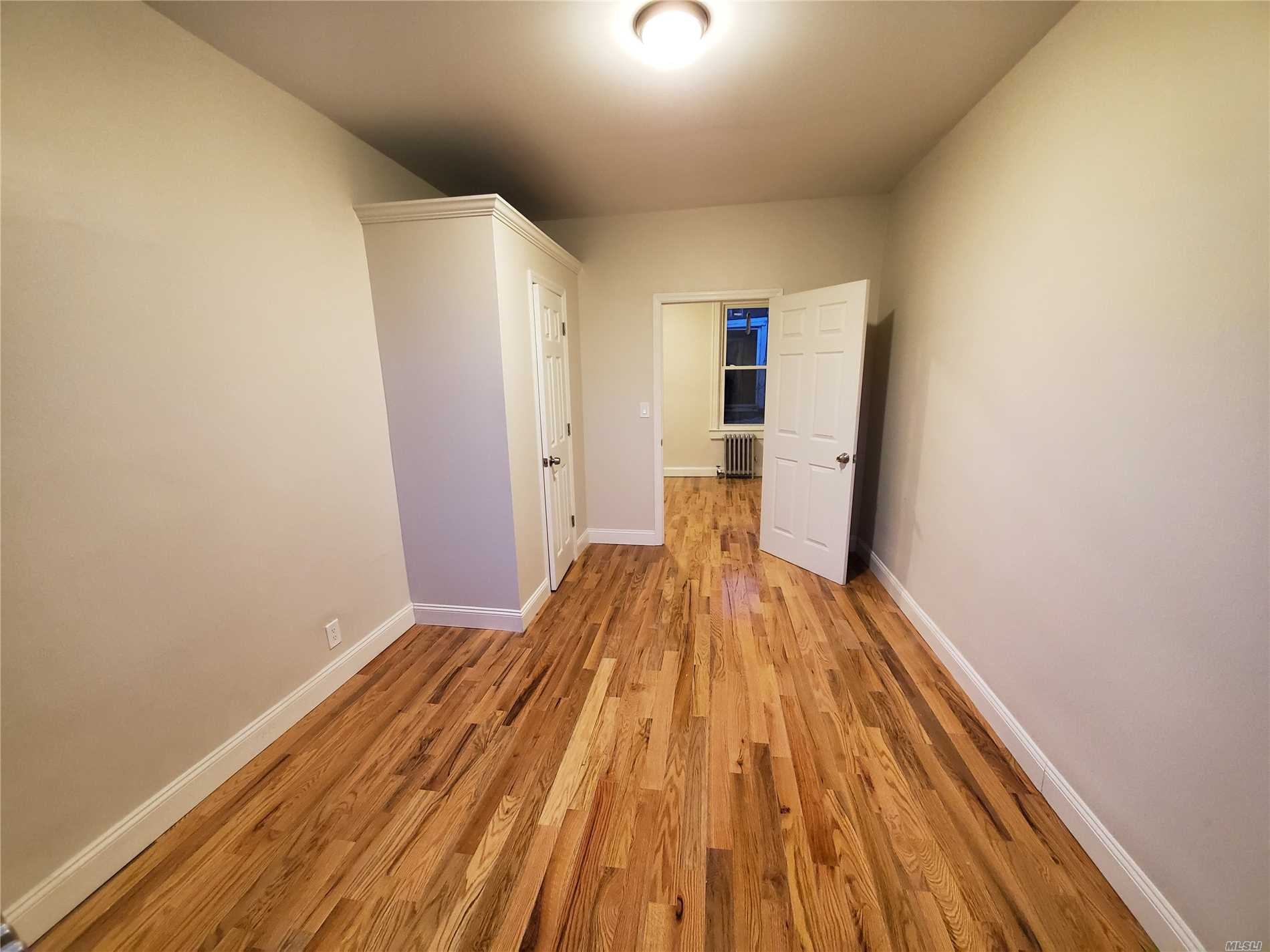 Beautiful Junior fully renovated Two Bedroom apartment. Brand NEW kitchen with all new appliances, New hardwood floors, New windows, etc,