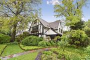 Renovated authentic 5 bedroom Tudor situated in Douglas Manor, one block from the Douglaston Club, two blocks from the shore and marina, and in close proximity to transportation and shopping. Exquisite architectural details using the finest materials, custom design chef kitchen, 2 fireplaces, wood floors throughout, terrace off the dining room overlooking the private lush back yard, patio, and koi pond. Commute is 27 minutes to Manhattan via LIRR. Community School District #26.
