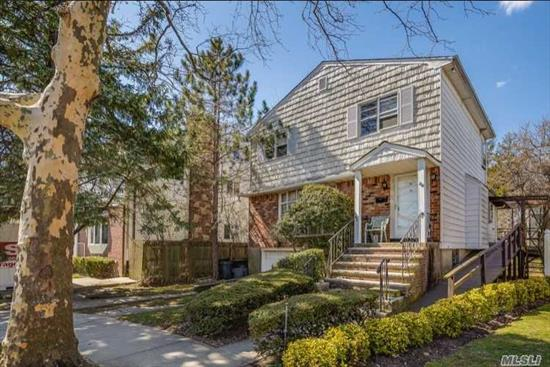 Spacious Colonial On Quiet Cul-De-Sac In Prime Far Rockaway Location. 4 Bedrooms And 2 Baths On 1 Level, Main Level Den, Finished Basement, Cac, Low Taxes.
