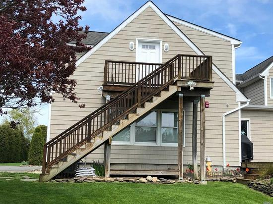 Very Clean and Neat second-floor apartment w/1 bedroom, 1 full bath open living rm/kitchen on this well-kept property in the heart of the North Fork. This bright comfortable space offers lots of light and farm views. Private W/D, CAC. Tenant pays electric and gas. No Smoking - No Pets - No Exceptions.