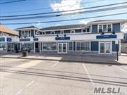 Renovated One Bedroom Apartment in The Heart Of Bayville Across From The Beach With Water Views. Second Floor Eat In Kitchen, Living Room, Bedroom. Perfect Location Restaurants Stores at Your Door Step !!