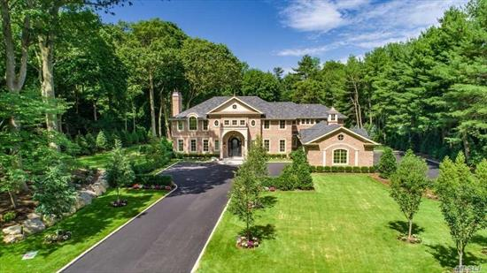 Set on 2 Magnificent Acres in the Village of Old Westbury, this 7500 Square Foot All Brick New Construction is the Ultimate Definition of Quality Craftsmanship and Exceptional Design.Built by Award Winning Rockwell Developers this 6 Bedroom 6.5 Bath Luxury Home Features Custom Ceiling Details and Recessed Wall Panels Throughout, a State of the Art Kitchen, Swimming Pool with Jacuzzi, 3-Car Garage with Custom Doors, Generator and So Much More! East Williston School District.House Completed July 2019