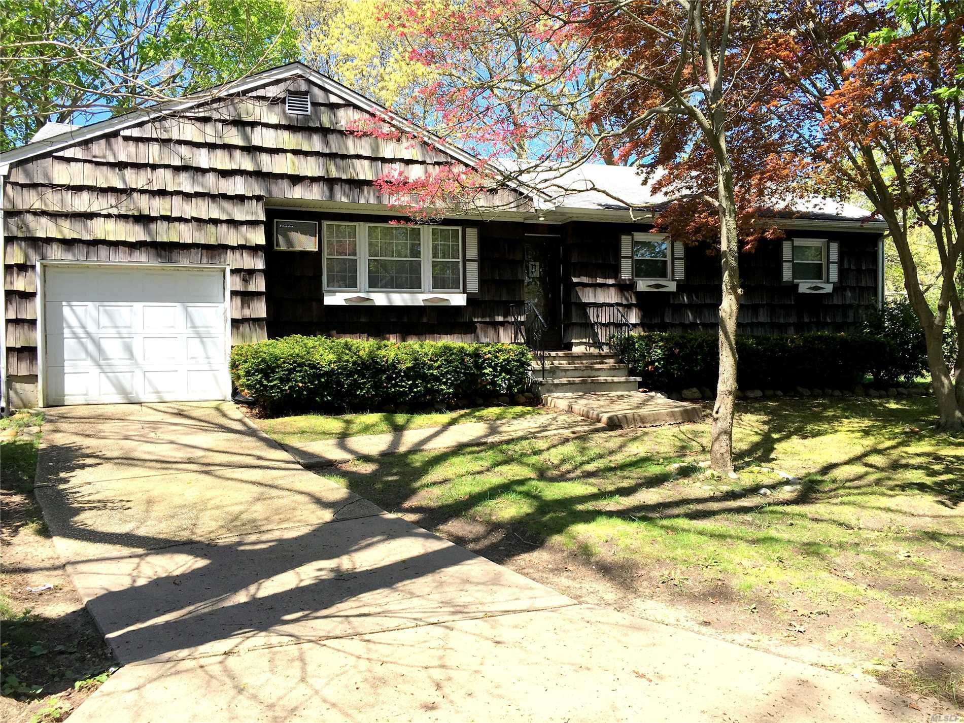 Well maintained and Pride of ownership through out in the spacious 3 bedroom 1 bath Ranch home on tree lined street. Easy access to parkways, most convenient location. Large rooms offer perfect floor plan for entertaining. Nice flat yard with plenty of room for a pool.. Huge basement ready to be finished for added space. Truly a lovely home.. Make it yours!!