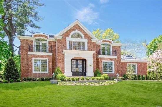 Welcome to this Gold Coast Grandeur! New to the market in the heart of Country Club. Palatial, elegant, extraordinary 5, 700 sqft. brick Colonial, 5 Br, 6.5 Baths, state-of-the-art gourmet kitchen with top-of-the-line appliances, radiant heat throughout foyer, powder Room & kitchen, open floor plan, quality craftsmanship throughout, set on exquisitely landscaped property. Renowned Wheatley/East Williston School District.