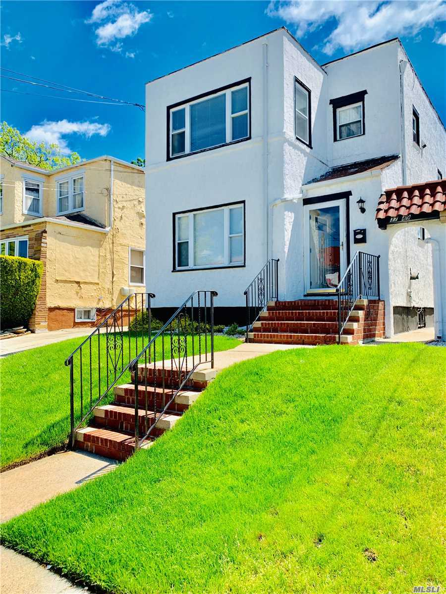Beautiful multifamily house in the heart of Laurelton. The house is conveniently located to all key areas of shopping, transportation and major highways. 3 minute walk to the local public schools. 2 minute drive to either the Rosedale or Laurelton LIRR. The home sits on a 31.5 x100 lot with plenty of backyard space and a wide shared driveway. Priced to sell fast! Do not sit around. Make an appointment to see for yourself!
