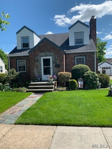 Beautiful home in the heart of Williston park. Walking distance to lirr . Entrance hall, renovated eat-in kitchen and baths, living room with fireplace and a formal dining room. Central air and master bedroom on first floor. The second floor has 3 bedrooms, a full bath and an additional room. Full unfinished basement, 1 car detached garage and attic storage. Move in condition. Possible mother/daughter with proper permits. All information is deemed reliable and accurate but not guaranteed.