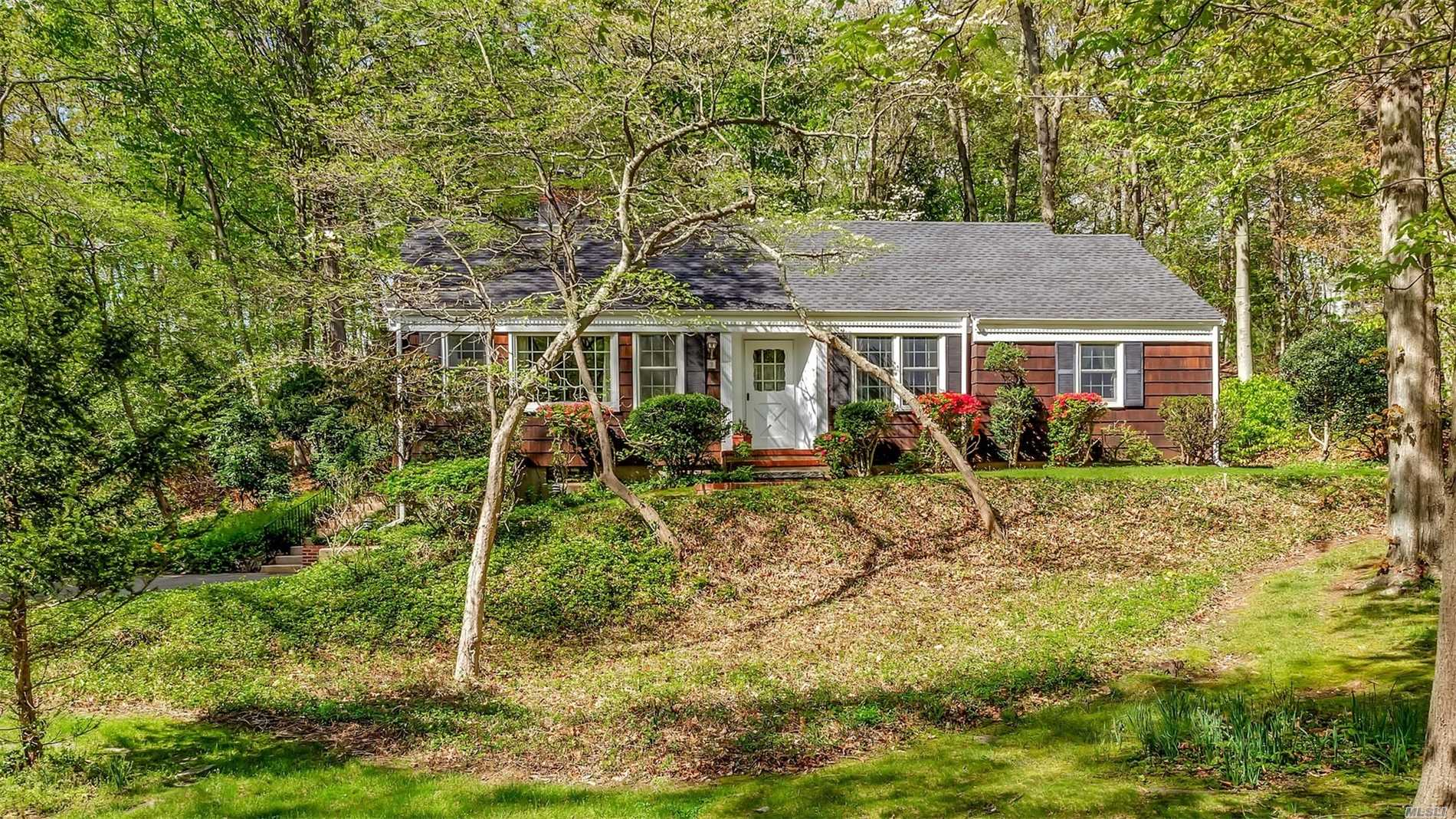 Location, Location, Location! Beautifully Maintained 3-Bedroom Ranch On Over An Acre Of Property And Nestled Between SBU And Historic Stony Brook Village. Wood Floors Throughout, Newer Windows And Roof, Kitchen With Granite Countertops And Paneled Appliances, Updated Heating And Electrical Systems. 0.5 Mile To RR Station And University. Near Stony Brook Harbor, Avalon Park, Village Shops, And A Variety Of Eateries. Prime Location!