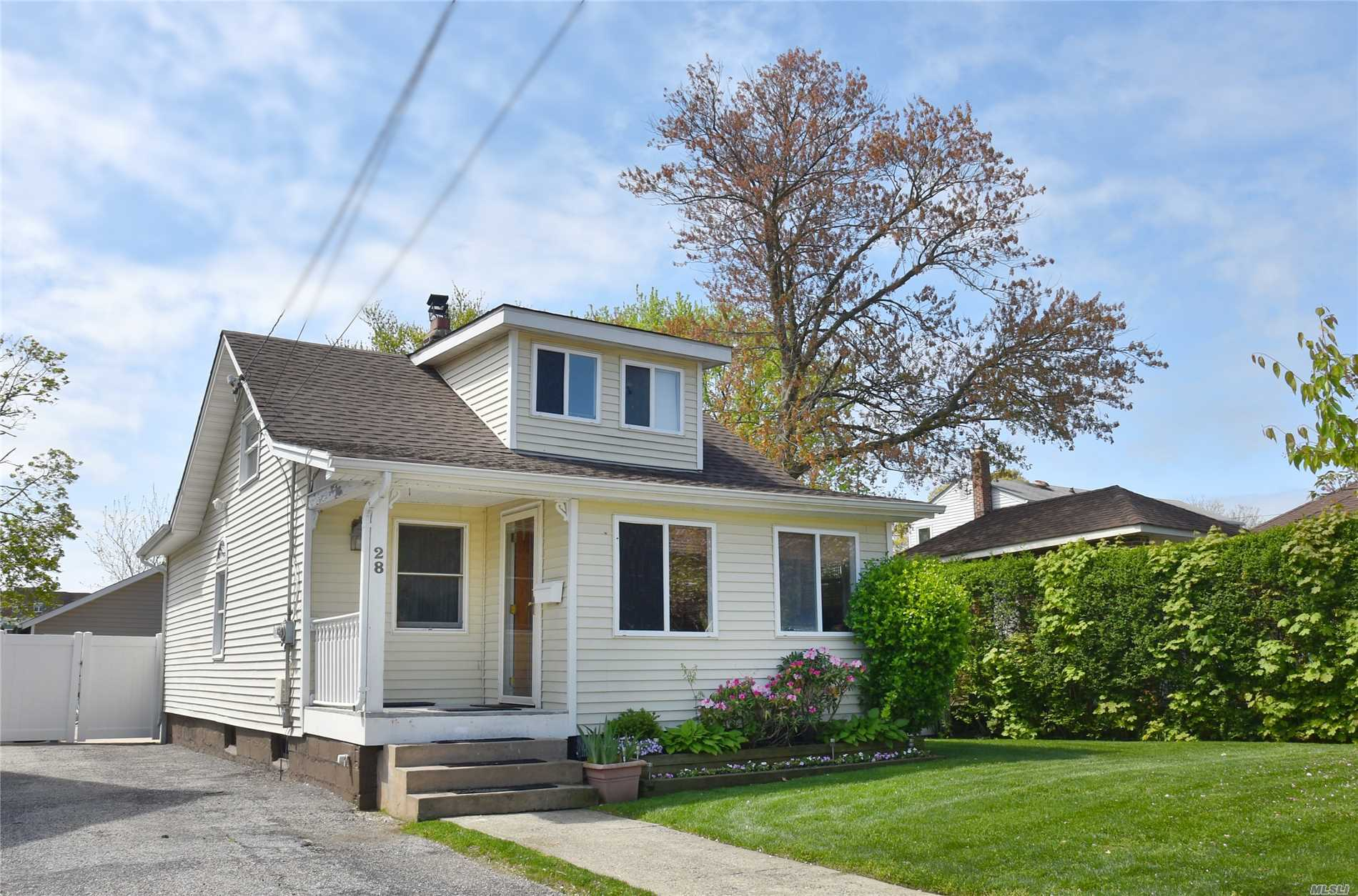 Bright, sun-filled, adorable bungalow on a spectacular over-sized 50x159 property in highly esteemed Lynbrook schools. Perfect starter home/downsize with terrific opportunity for expansion. Great location only blocks from shopping, restaurants, transportation. Great opportunity to live in the beautiful Village of Lynbrook!