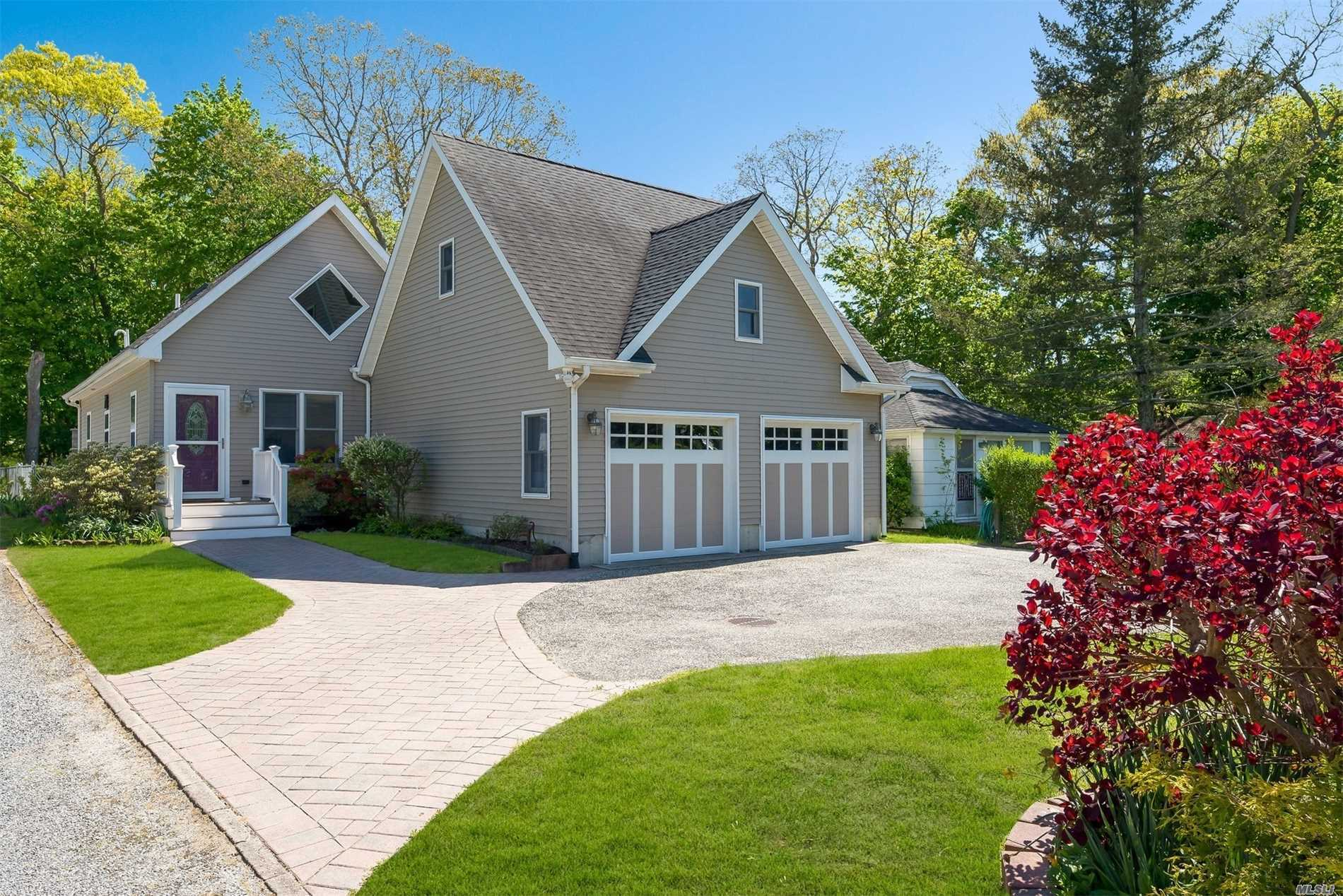 Delightful Newly Renovated North Fork Charmer Walking Distance To Peconic Bay Beach, Marina & Town, Bright Open Concept Living W Radiant Heat & 3rd Bdrm Option, Impressive Built-In Outdoor Kitchen/BBQ/Fireplace For Easy Entertaining In Serene Backyard Surroundings. This Pristine Move In Ready Home Also Includes A New Spacious Two Car Garage W Full Storage Loft Above. Perfect Area For Kayaking And Cycling Or Just A Quiet Stroll Around The Block. Come See This Precious Gem Before It's Gone!