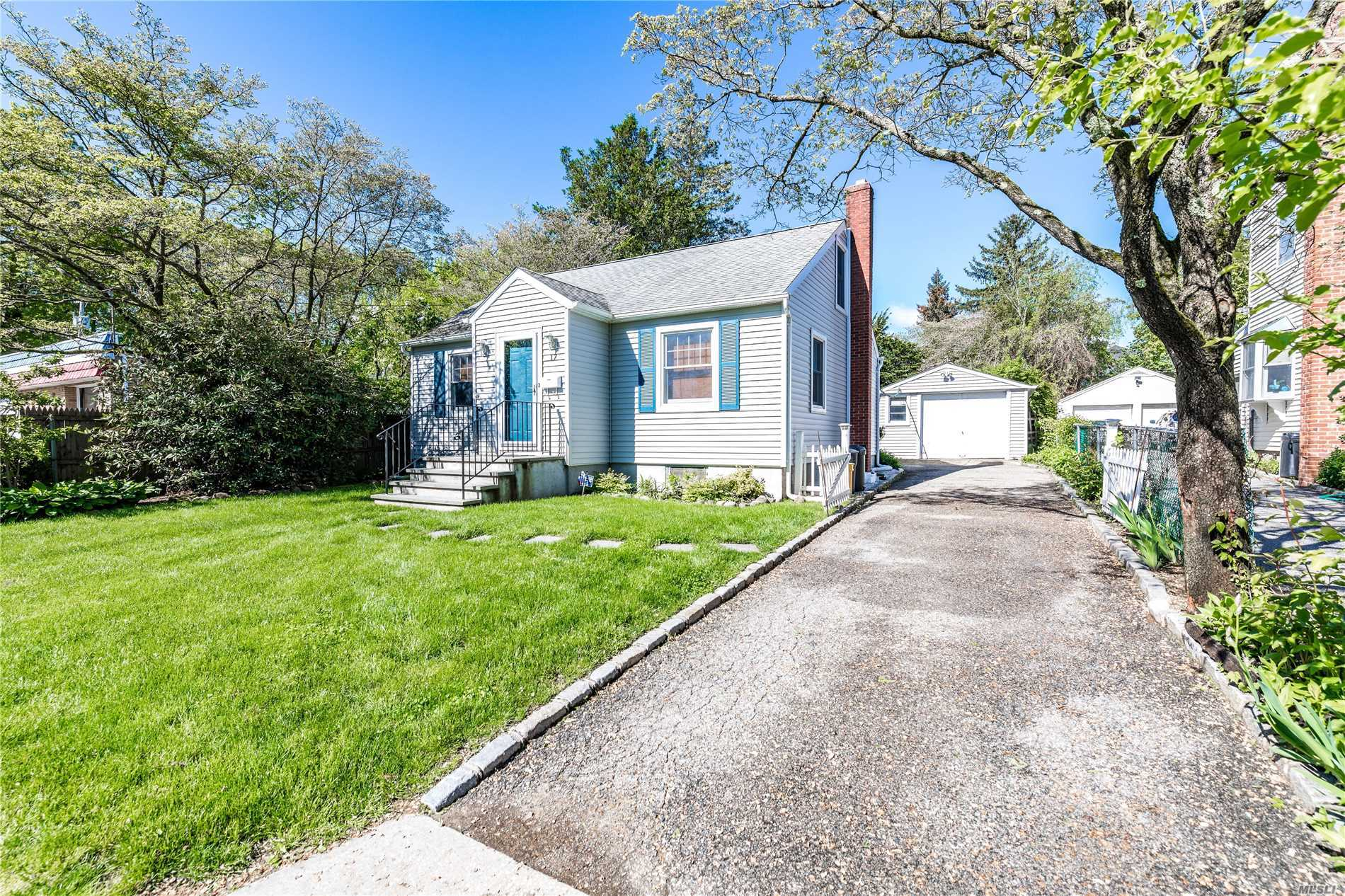 Cozy Welcoming Two Bedroom Cape Situated on a Beautiful Private Park-Like Property. This Charming Home has Wood Floors Throughout Eat in Kitchen/Dining Room a Walk up Attic. Room to Expand.