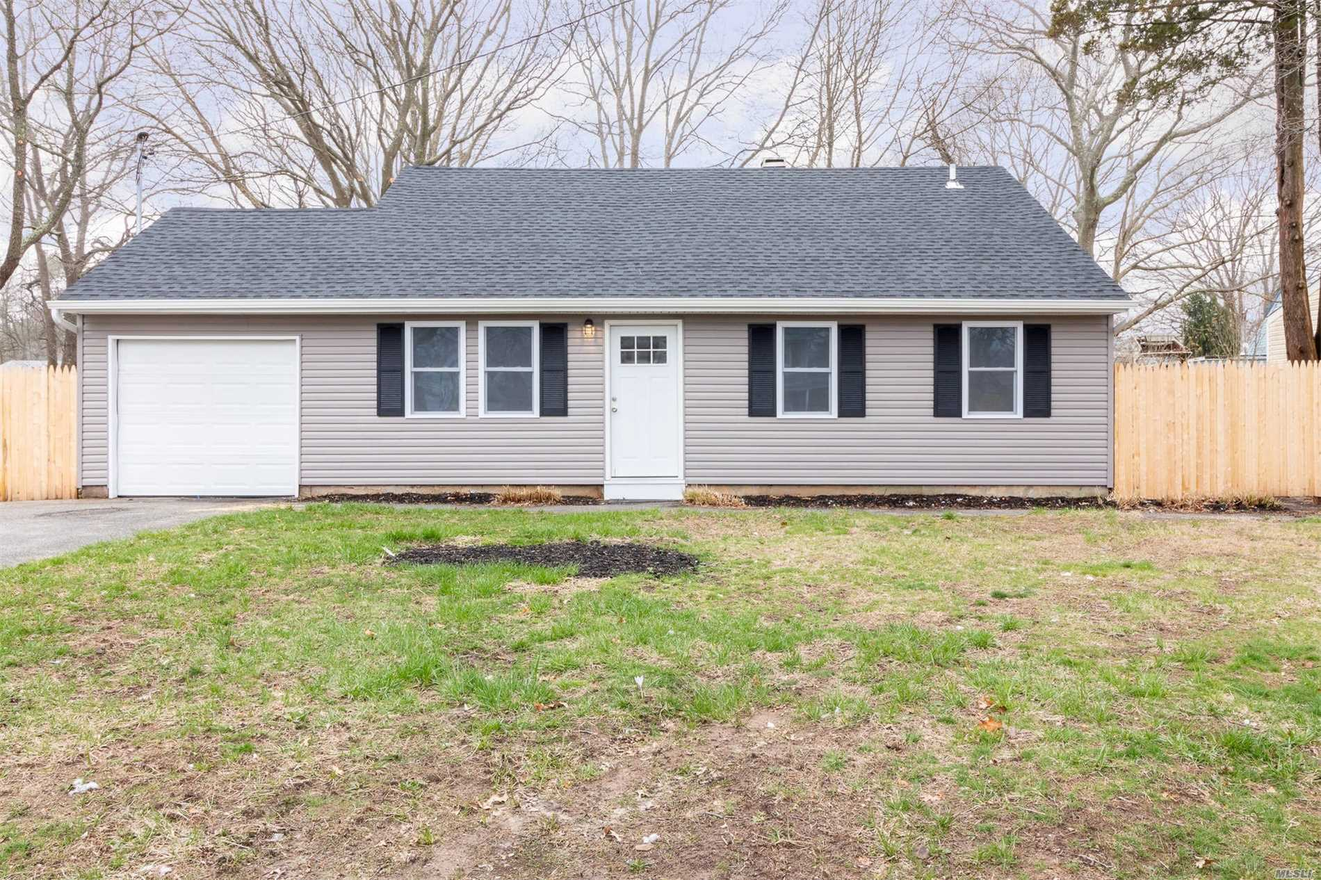 Diamond, Totally Renovated 4 Bedroom Split, With 2 Baths. Move-In Ready.