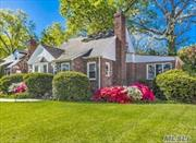 Want the Best in Valley Stream...You must see this.Large Brick/Field Stone Cape on a Large prop...Short walk to Fireman's Field and outstanding S/D13. Three - possibly four B/Rooms, Two Bths, L/Room with Cozy Fireplace, Lg Den/Sun Room, Kitchen, D/Room, Full Bsmt with High Ceiling. Close to Shopping, Train and Bus Transportation and Expressways. Don't miss out ! Must see.