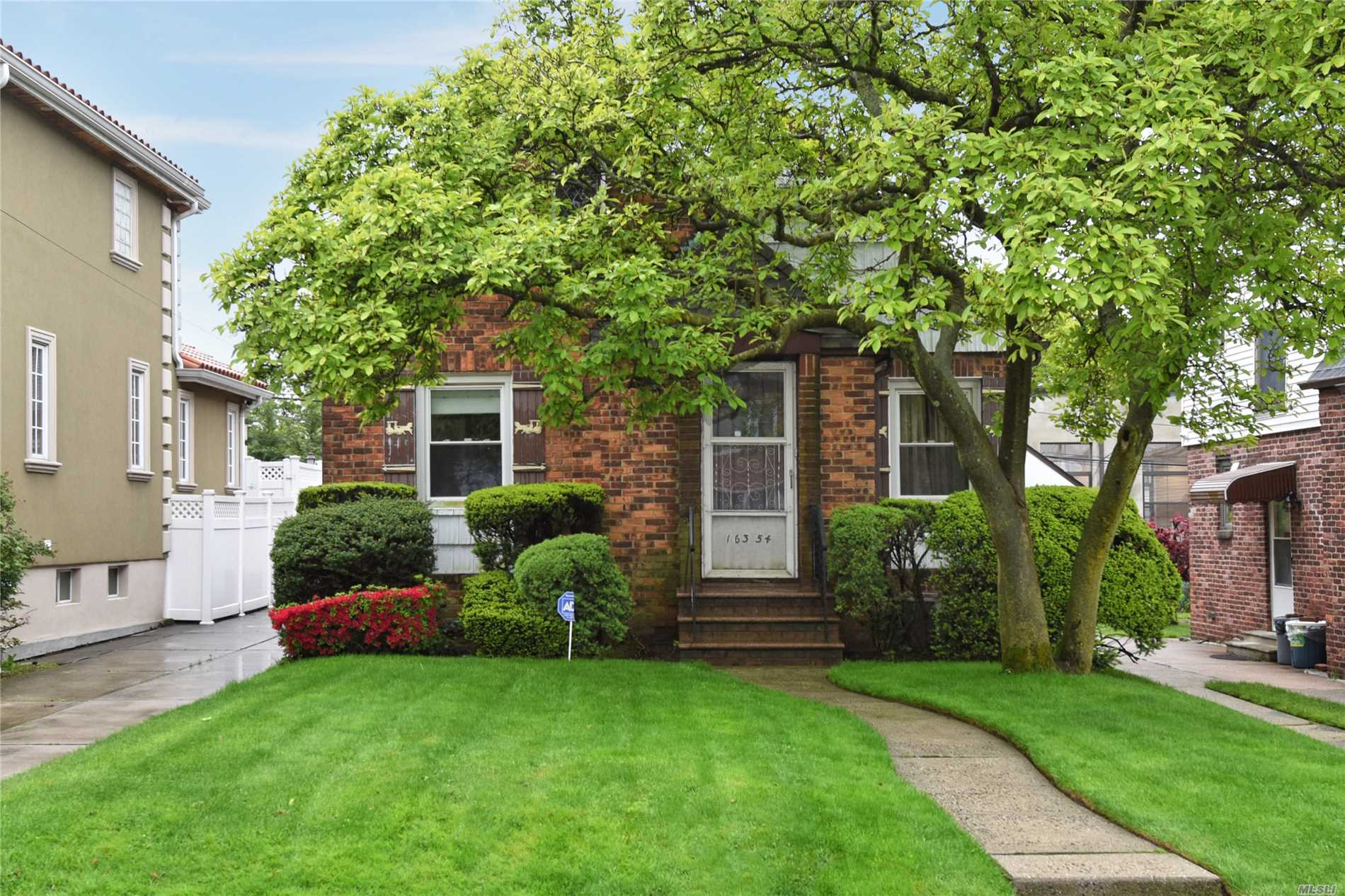 Welcome Home! Tudoresque Cape With Vaulted Ceiling, Retro Kitchen, With Tin Ceiling, Formal Dining, Oak Floors, Three Bedrooms, Finished Basement On A Prime Block. Home Has Potential For More Than Is.