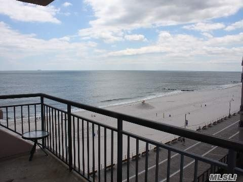 May be Pet Friendly 2 Bed 2.5 Bath w/ Parking! Oceanfront w/ Magnificent Views of the Atlantic Ocean From Your Very Own Private Terrace. Hardwood Floors Throught. Open Layout w/ Updated Bathrooms & Kitchen. Luxury Oceanfront Building Features 24 Hr Doorman, Heated Oceanfront Pool, Gym, Party Room, Laundry on Every Floor. Just Seconds From LIRR and all Long Beach has to Offer- Shops, Restaurants, Beach, Ocean, & Our Famous Boardwalk.