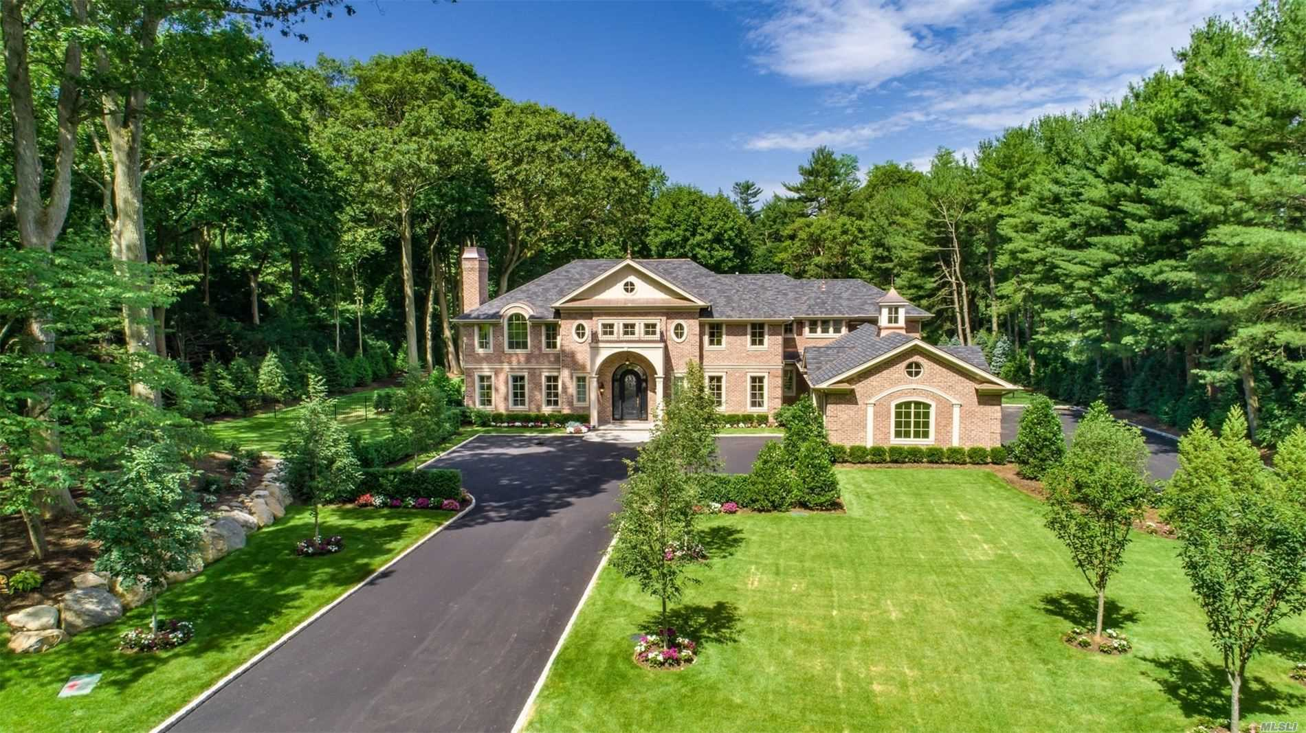 Set on 2 Magnificent Acres in the Village of Old Westbury, this 7500 Square Foot All Brick New Construction is the Ultimate Definition of Quality Craftsmanship and Exceptional Design. Built by Award Winning Rockwell Developers this 6 Bedroom 6.5 Bath Luxury Home Features Custom Ceiling Details and Recessed Wall Panels Throughout, a State of the Art Kitchen, Swimming Pool with Jacuzzi, 3-Car Garage with Custom Doors, Generator and So Much More! East Williston School District.