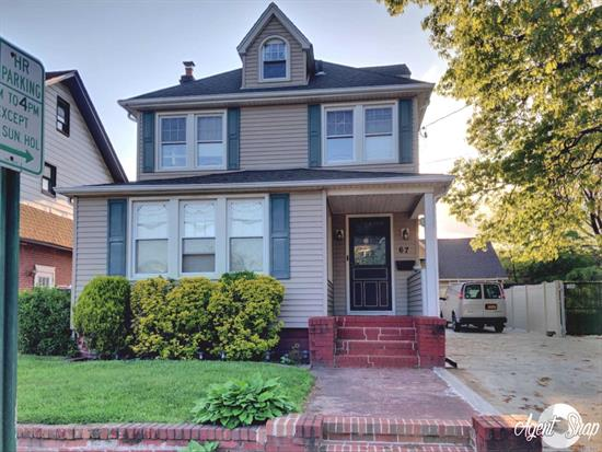 Well-Maintained 1-Bedroom Apt w/ Bonus Room in the Beautiful Village of Lynbrook! This Top Floor Apt Boasts Beautiful Hardwood Floors, Finished Attic (Bonus Room), New Driveway for 2 Car Parking & So Much More! Close to LIRR. Come see!