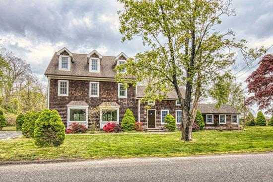 Beautiful Historic Home Close to the Great South Bay! Walk into the Front Foyer which Leads to a Cozy Den with Fireplace. Expansive Livingroom offers a Fireplace and Tons of Square Footage. The Large Eat In Kitchen Has Granite Countertops and a Center Island. There Are Plenty of Bedrooms and Bathrooms for a Large Family or Simply to Entertain Guests. The Kids Will Love Thier Own Hideaway on the 3rd Floor. Outside, Enjoy the Inground Pool! Come See All This Home Has to Offer!
