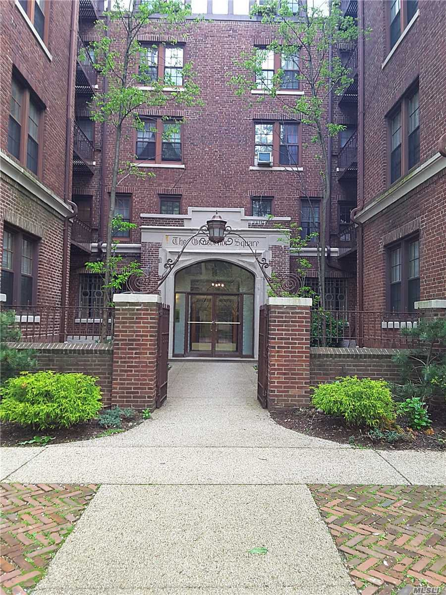 Location, Location, Location! Peaceful Studio Forest Hills Gardens Opportunity, Private Street Parking For $180/Year, Close to Restaurants & Shops, Nearby Public Transportation includes E & F Train & LIRR station (15 Min. to Penn Station approx.)