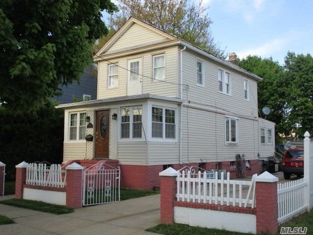 Great Opportunity To Purchase A One-Family Home With 3Br/2Bath, Finished Basement, 2 Car Garage, And 4 Car Private Driveway In Valley Stream. This Home Is Conveniently Located Within Walking Distance To Shopping, Schools And LIRR Train Station. This Property Is Being Sold As-Is And Fully Occupied. Cash Sale Only Required