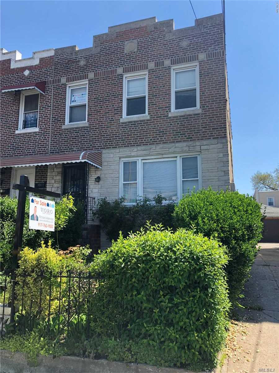 Amazing opportunity to bring your own vision on this Two Family Brick Home Located In One Of The Most Convenient And Quiet Neighborhoods Of E.Elmhurst - Queens. Conveniently Mins away To Northern Blvd With Shopping Center, Restaurants, transportation, Cafes, Supermarkets And Much More. This house needs some TLC, but once renovated you have an amazing investment for fraction of the cost of newly renovated homes in the area. Don't let this opportunity pass by. Schedule your private showing ASAP!