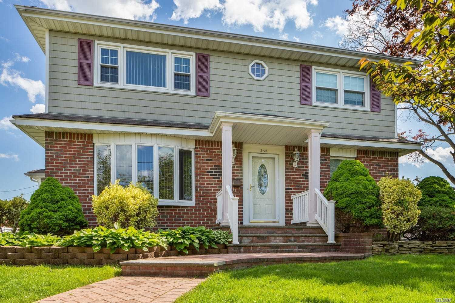 Welcome Home to this spacious colonial nestled on a rare oversized lot!!! This home has so much space and potential, ready for its next owners.  Featuring a 1.5 detached garage and a huge yard! Possible Mother/Daughter with proper permits. Nestled in the heart of Massapequa seconds away from shopping, transportation and the preserve. Parklike yard.