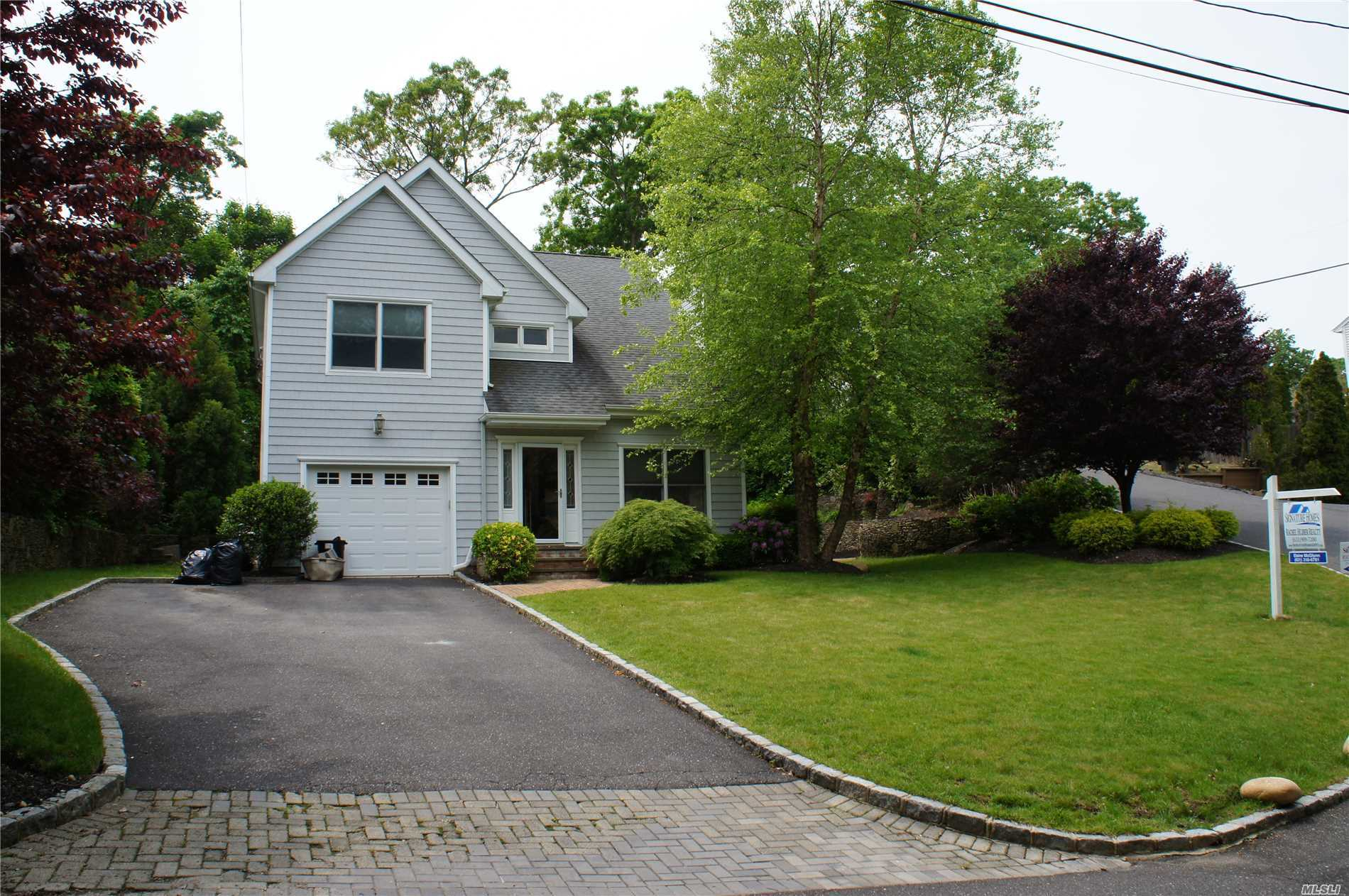 Diamond Post Modern With Open Floor Plan. Living Room w/ Fireplace. Eik w/Custom Cabinets & Center Island. Granite Counter Tops. Sliders Over Looking Brick Patio. Wood Floors Throughout, Laundry Room, Office. Master Suite w/ Walk In Closet & Beautiful Master Bath. New Water Heater, New 1200 Gallon Drainage System. Professional Landscaped. Private Beach Rights.. Solar Panels Negotiable.. A Must See..