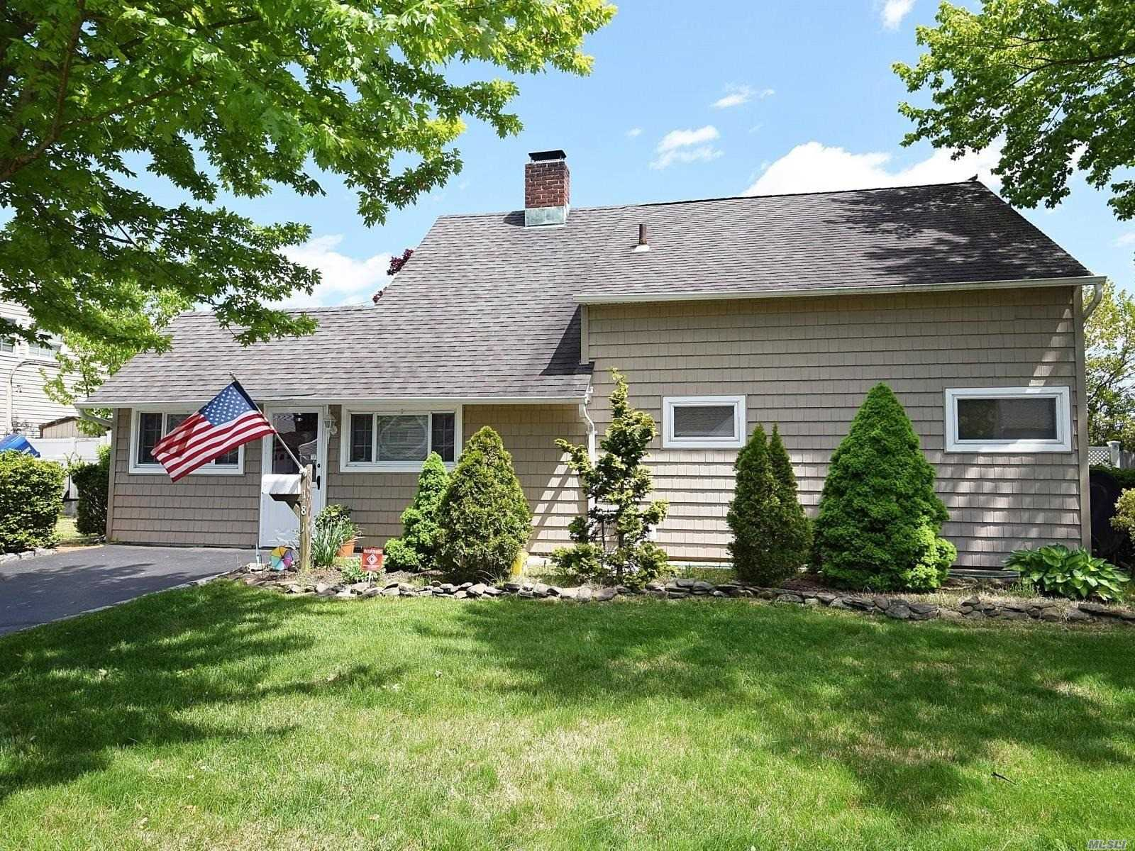 Spacious Expanded Ranch, Young Roof & Siding, Living Room w/ Cozy Fireplace & Sliders To Yard. Large Kitchen, Four Bedrooms and Two Full Baths.
