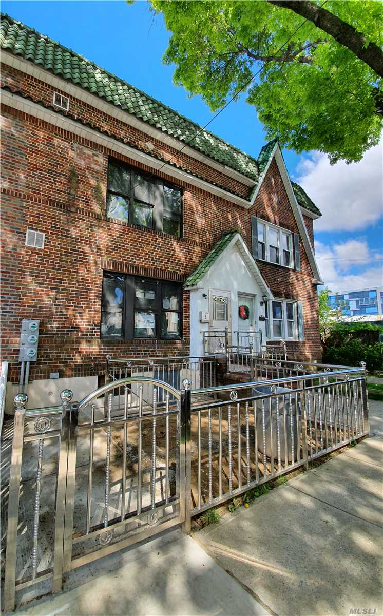 Gorgeous All Brick 2019 Rebuilt Two Family House In Bayside! 6 Brs, 5 Baths, Finished Basement With High Ceiling, separate entrance.Two 8*20 terrace, Brand New Mint Condition! 8 minutes To LIRR, close police department, Shops, Restaurants and All! Best Schools District #26.