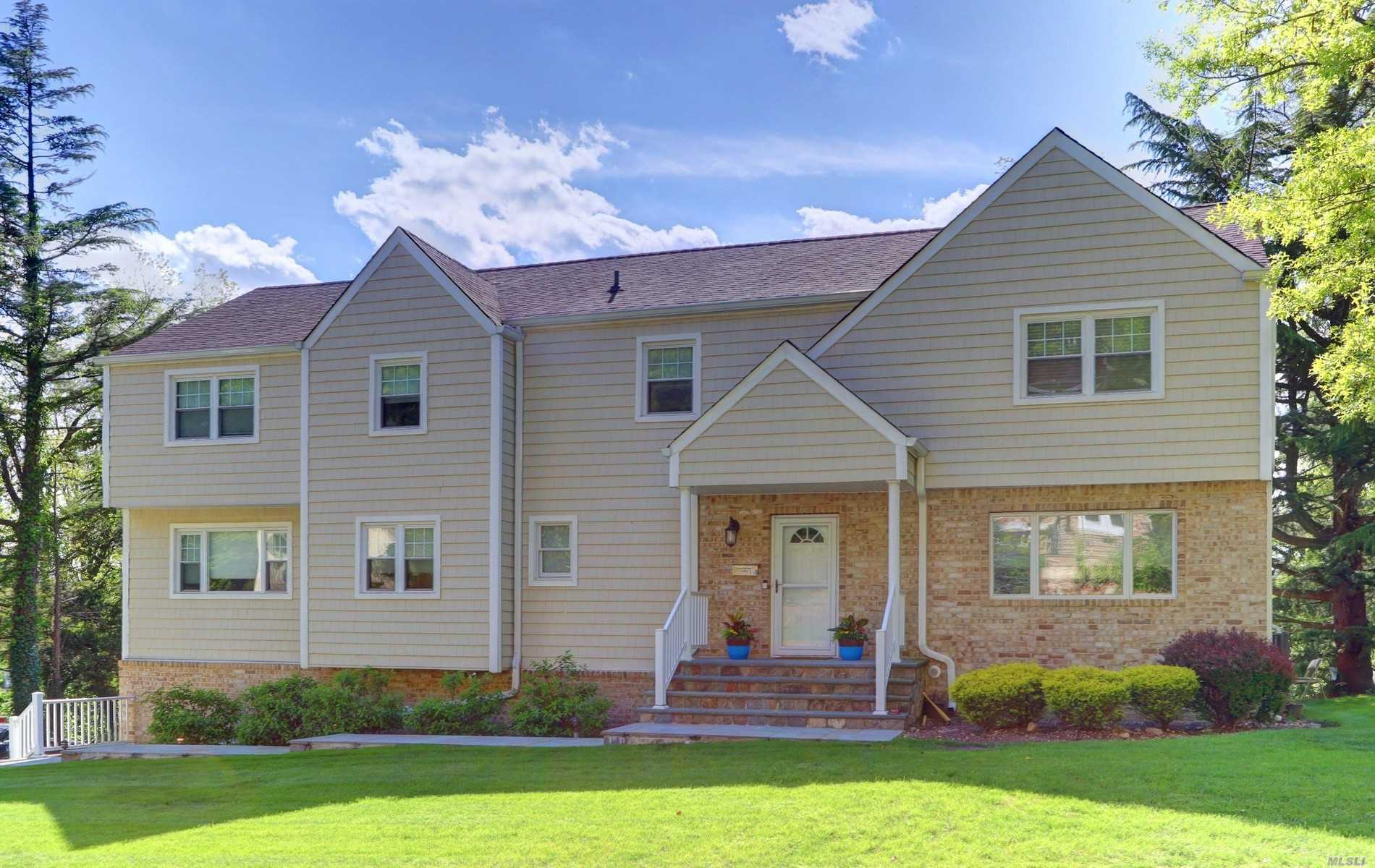 Beautiful home on almost .5 acres of flat useable property. The new TREX deck is conveniently located off the Great Room. Fabulous place to entertain. All new baths and enlarged master bedroom.