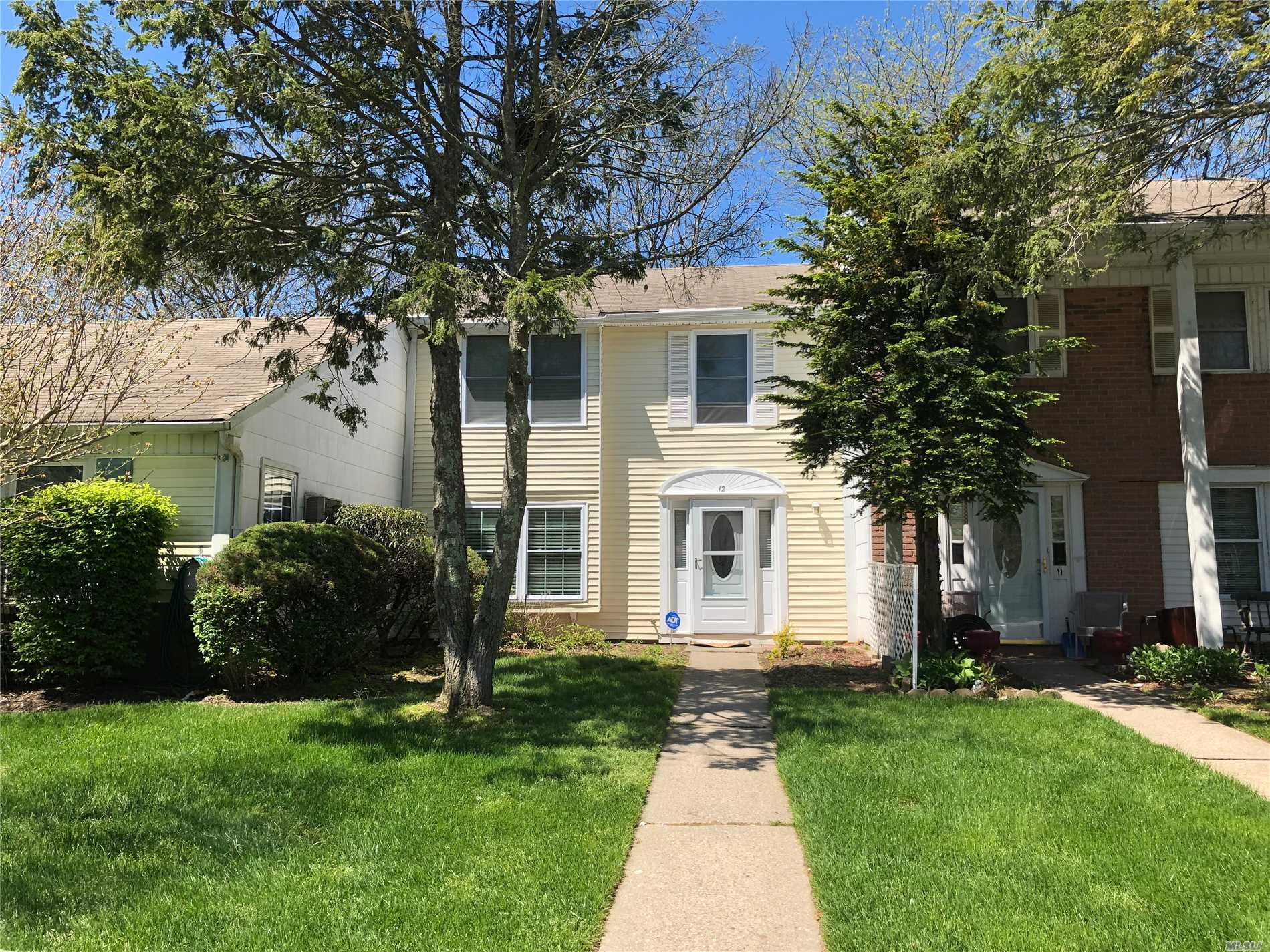 All new hard wood floors. No carpets. Private patio. 2 car private driveway. In Strathmore club house amenities. Pool, basketball, tennis & playground.