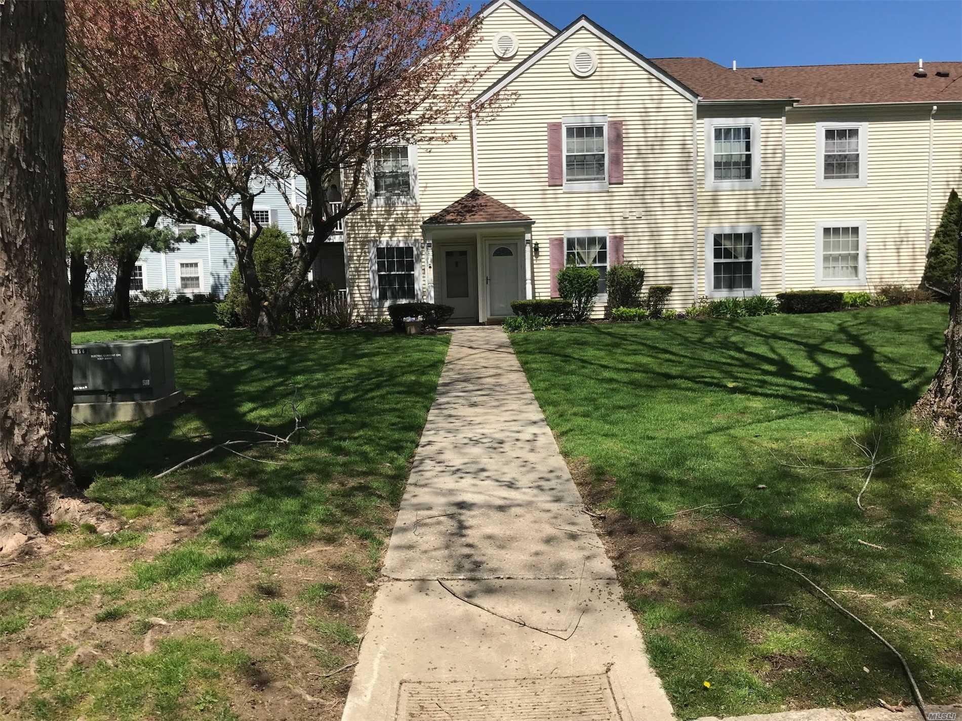 Renovated 2 Bedroom 1-1/2 Bath Lower Unit with Sliders To Sunset Patio This Corner Unit Has Been Tastefully Renovated and Offers Formal Dining Area Sunlit Living Room Master with 1/2 Bath, Full Bath with Laundry Hook ups.