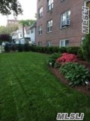 Bright Modern CO-OP L-Shaped Studio with Window EK and Bathroom, Hardwood Floor, Eastern Exposure, Elevator, Lobby Laundry, Board Approval, , No Pet, Walk to Subway E & F Train, Close to LIRR, Massive Forest Park, Jamaica Hospital, Shops and Bus to Airport, Required 80% Carpeting, Rent $1350 Incl Heat, Hot Water and Cooking Gas, July Occupy
